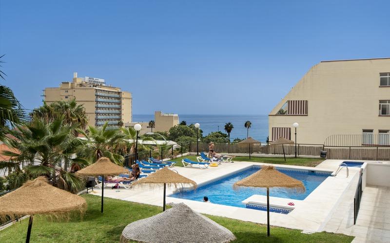 Precious spacious duplex Benalmádena with two terraces and stunning view